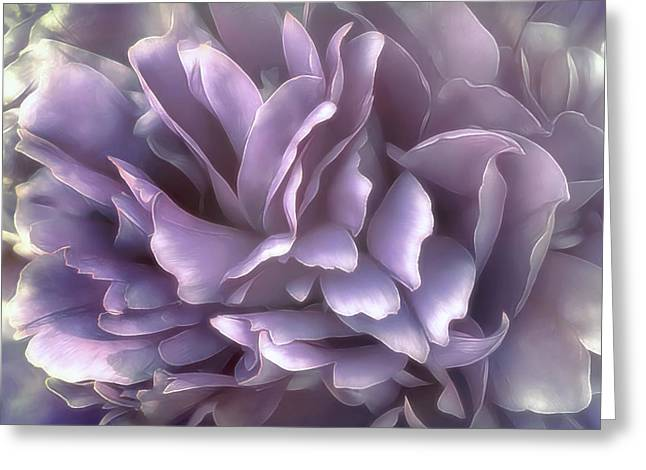 Greeting Card featuring the photograph Breeze In Cool Lilac by Darlene Kwiatkowski