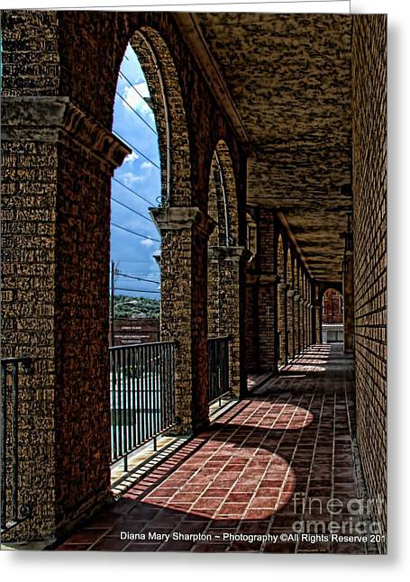 Breezway On The Baker Greeting Card