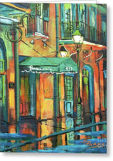 Brennan's Greeting Card by Dianne Parks