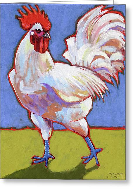 Bresse Rooster Greeting Card
