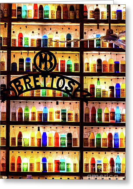 Brettos Bar In Athens, Greece - The Oldest Distillery In Athens Greeting Card