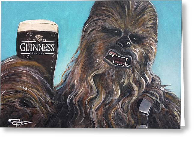 Brewbacca Greeting Card