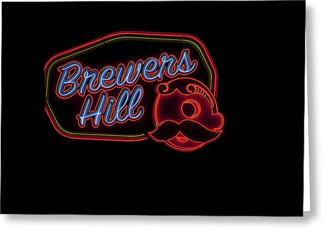 Brewers Hill Neon Greeting Card