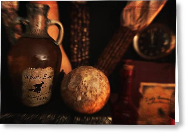 Brews And Rutabaga Greeting Card by Toni Hopper