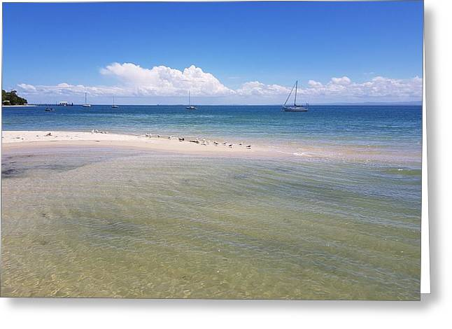 Bribie Waters Greeting Card