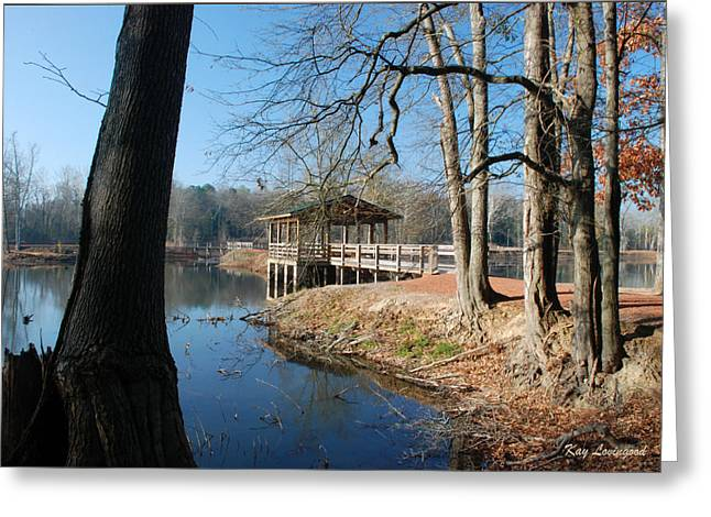 Brick Pond Park Greeting Card