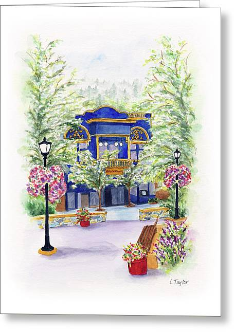 Brickroom On The Plaza Greeting Card