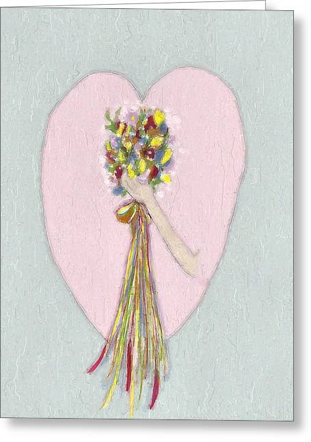 Bridal Bouquet Greeting Card