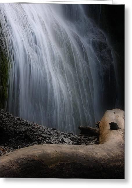Bridal Falls Greeting Card by Naman Imagery