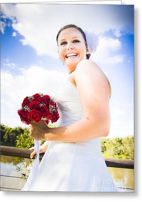 Bridal Giggles Greeting Card