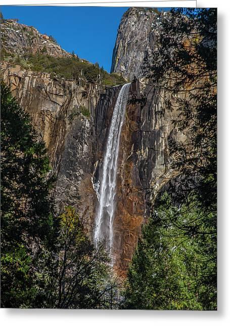 Bridal Veil Falls - My Original View Greeting Card