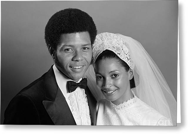 Bride And Groom, C.1970s Greeting Card