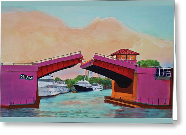 Bridge At Se 3rd Greeting Card