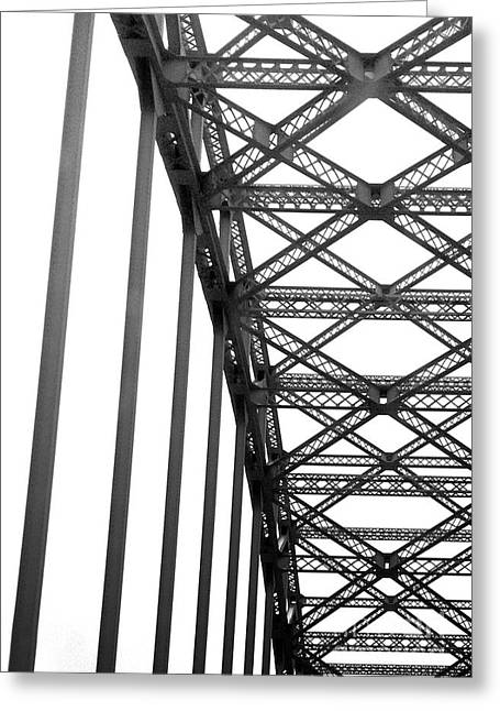 Greeting Card featuring the photograph Bridge by Brian Jones