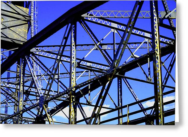 Bridge  Frame -  Ver. 1 Greeting Card
