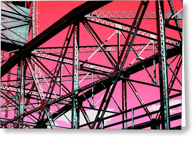 Bridge  Frame -  Ver. 10 Greeting Card