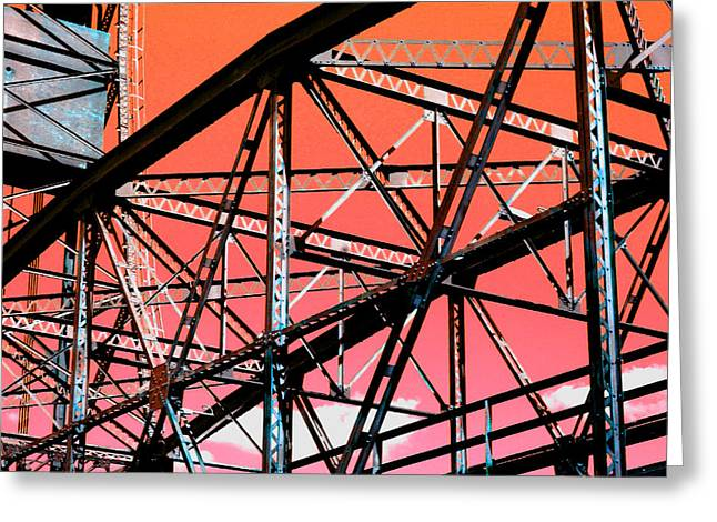 Bridge  Frame -  Ver. 11 Greeting Card