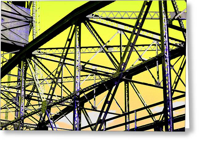 Bridge  Frame -  Ver. 2 Greeting Card