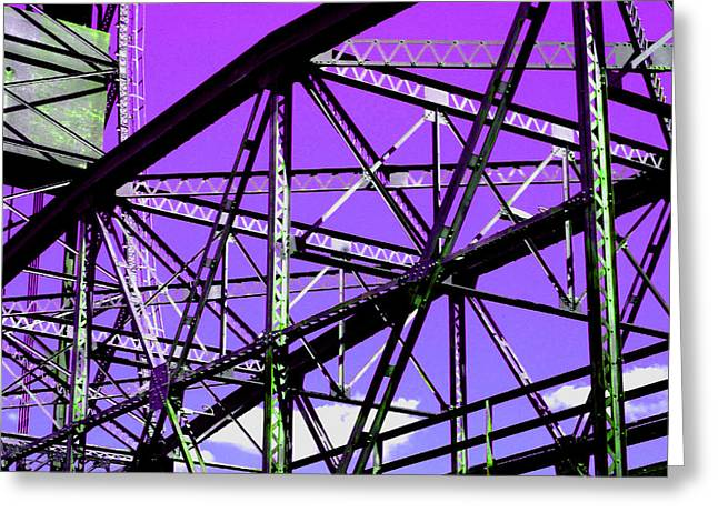 Bridge  Frame -  Ver. 7 Greeting Card