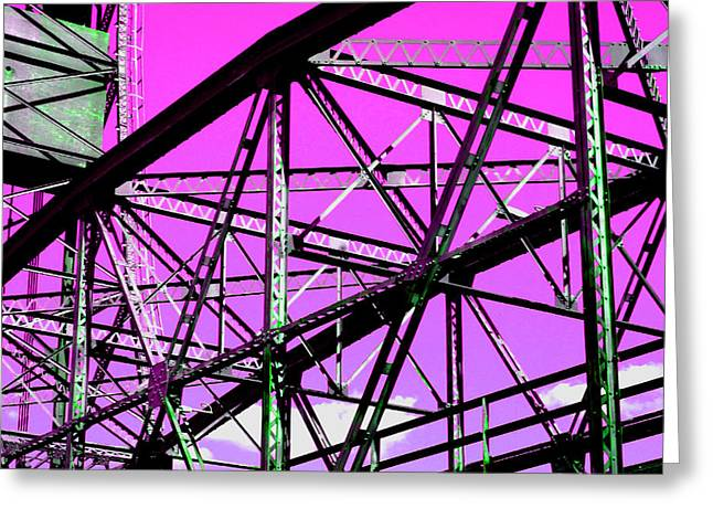 Bridge  Frame -  Ver. 8 Greeting Card