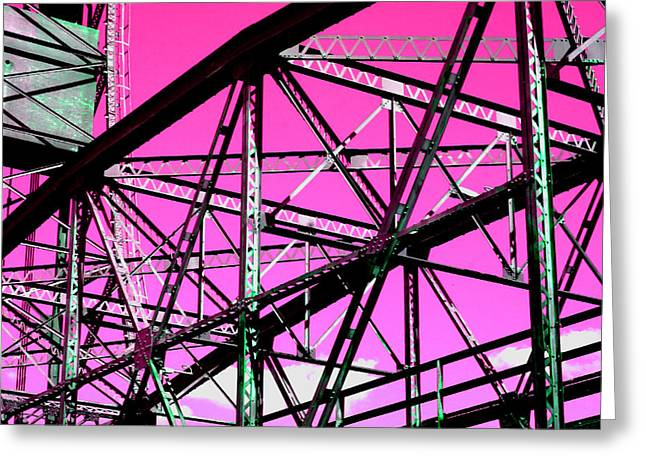 Bridge  Frame -  Ver. 9 Greeting Card
