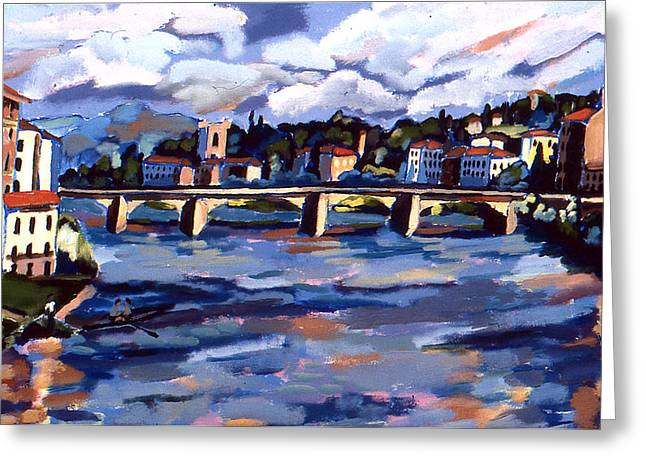 Bridge In Florence Greeting Card