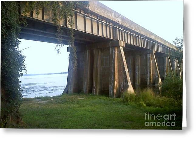 Bridge In Leesylvania Park Va Greeting Card