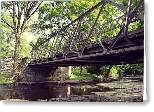 Bridge Greeting Card by Julian Gandolfo