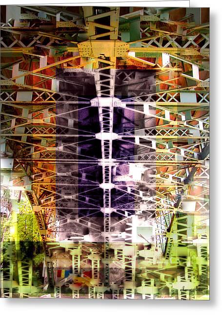 Bridge Greeting Card by Marko Mitic