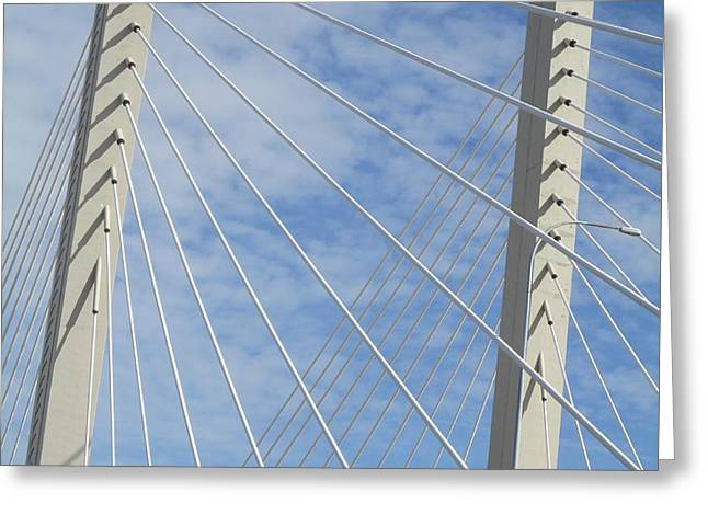 Bridge Greeting Card by Martin Cline