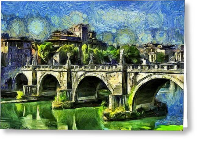 Bridge Of Angels Greeting Card