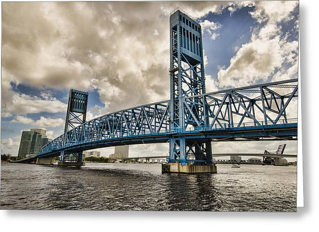 Bridge Of Blues Greeting Card