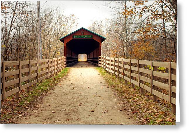 Bridge Of Dreams Greeting Card by Robert Clayton