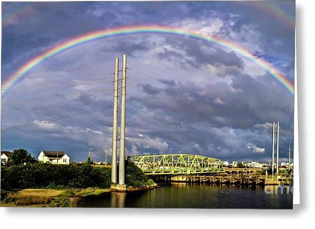 Greeting Card featuring the photograph Bridge Of Hope by DJA Images