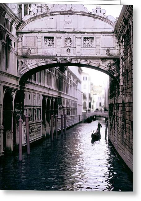 Bridge Of Sighs Greeting Card by Warren Home Decor