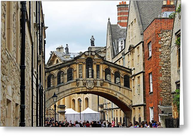 Bridge Of Sighs Greeting Card
