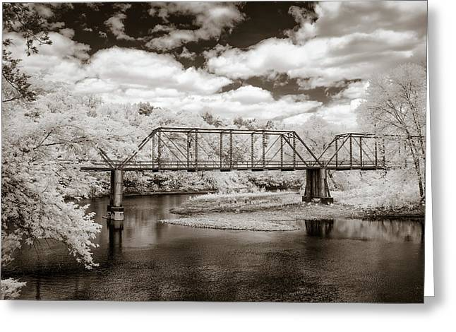 Bridge On Mulberry  Greeting Card by James Barber