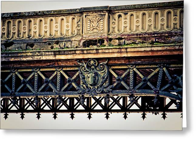 Bridge Ornaments In Germany Greeting Card