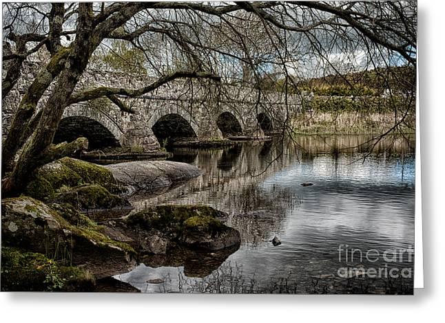 Bridge Over Llyn Padarn Greeting Card
