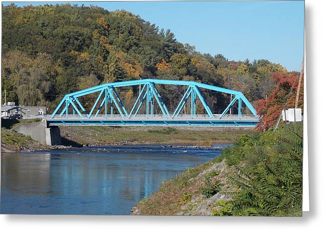 Bridge Over Rondout Creek 2 Greeting Card