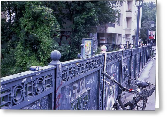 Bridge Railing Greeting Card
