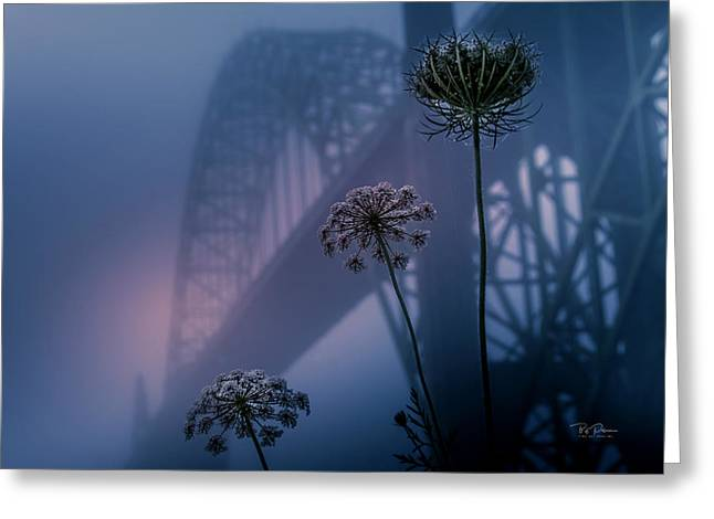 Bridge Scape Greeting Card