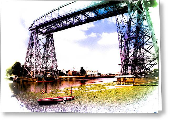 Bridge Greeting Card by Silvia Bruno