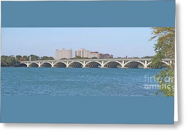 Bridge To Belle Isle State Park Greeting Card