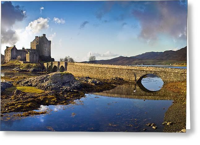 Bridge To Eilean Donan Greeting Card