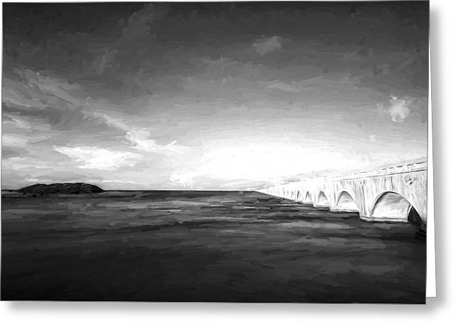 Bridge To Far IIi Greeting Card by Jon Glaser