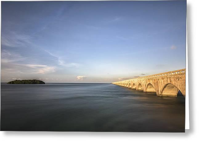Bridge To Far Greeting Card