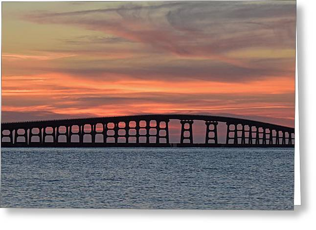 Bridge To Hatteras Greeting Card