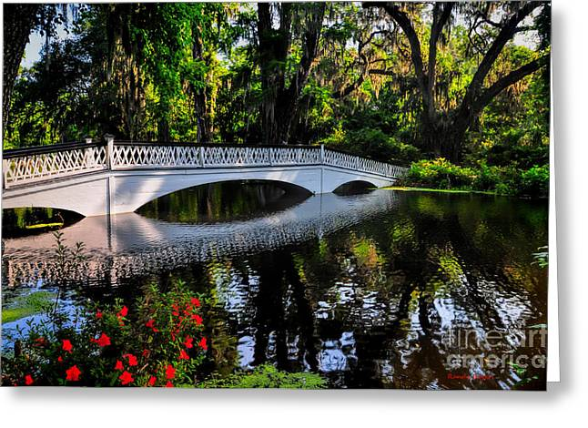 Bridge To Spring Greeting Card