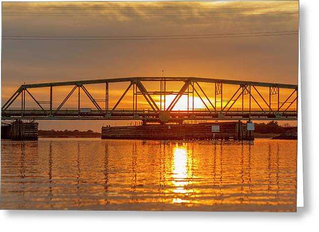 Bridge To Tranquility  Greeting Card by Betsy Knapp